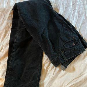 Converse One Star Black Micro Corduroy Pants